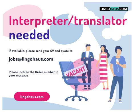dringend benötigter Übersetzer