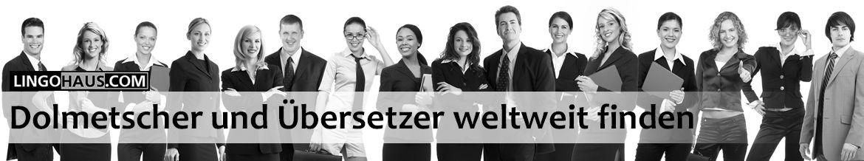 Der Service der Buchung von Übersetzerdiensten weltweit