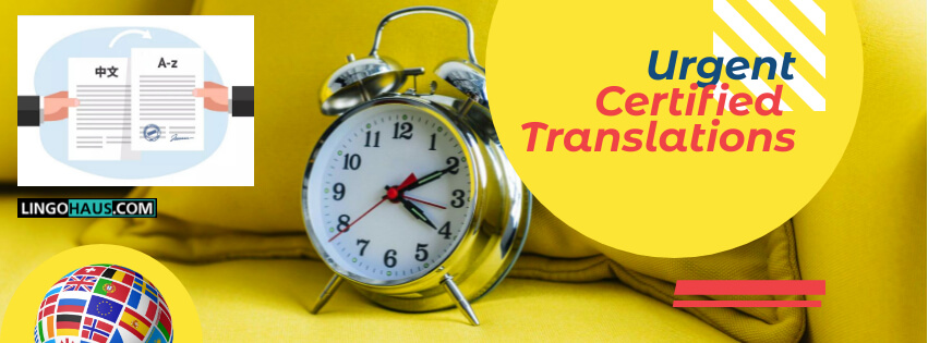 urgent certified translation germany lingohaus